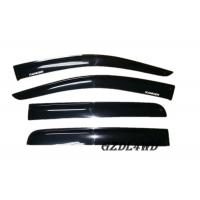China Black Ford Ranger T6 Car Window Sun Visor Acrylic Plastic With High Polished / Shining wholesale