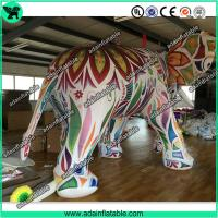 China Large Colorful Inflatable Elephant / Outdoor Advertising Balloon For Big Event wholesale