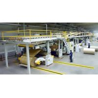 China speed 80m/min steam heating 5ply corrugated cardboard production line/paperbaord line on sale
