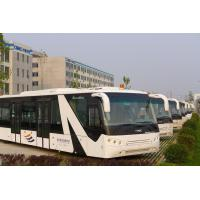 Customized 77 Passenger Alloy Steel Airport Passenger Bus Aero Bus