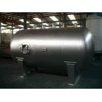 China Stationary Horizontal Nitrogen Stainless Steel Tanks And Pressure Vessels wholesale