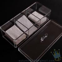 China acrylic drawer organizers wholesale
