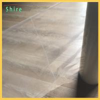 China Crack Line Carpet Protection Film Poly Ethylene sticky carpet protector roll wholesale