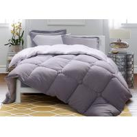 China Solid Warm Purple Down Alternative Comforter Twin / Queen / King Size Machine Wash wholesale