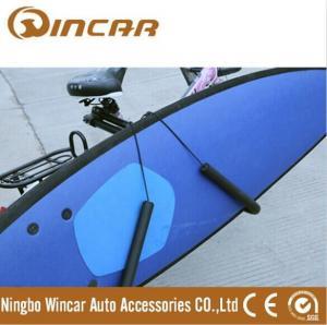 China Surfboard Transporting Kayak Roof Carrier , Anti-rust clip kayak car carrier wholesale