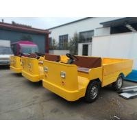 Buy cheap Battery Operated Electric Cargo Vehicle With Loading Platform And Foldable Guardrail from wholesalers