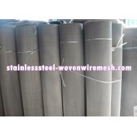 China Plain / Twill Dutch Weave Stainless Steel Filter Wire Mesh With Mesh 50 - 3600 on sale