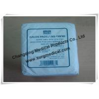 China Plain Absorbent Cotton Gauze Dressing Swabs Non Sterile for Wound Care wholesale
