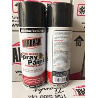 China Anti Scratch Aerosol Spray Paint Odourless 400ml Car Spray Paint Cans wholesale