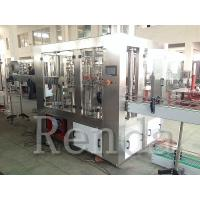 China 220V Full Automatic Fruit Juice Bottling Equipment Beverage Filling Production Line wholesale