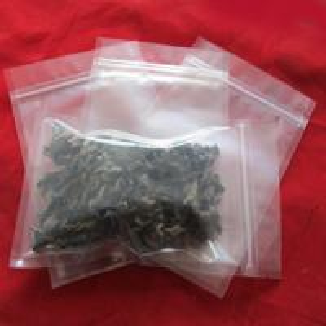 China Laminated Transparent Foil Pouch Packaging , Zipper Foil Packaging Bag wholesale