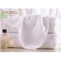 China 100% Cotton Terry Hotel Hand Towels Embroided White Color Luxury Hand Towels wholesale
