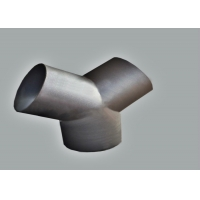 China Butted Seamless A234 Wpb Y Type Joint Weld Equal Tee wholesale