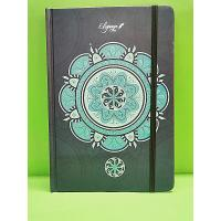 China Personalised Hard Cover Custom Printed Notebooks , Promotional Notebooks With Elastic wholesale