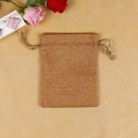 China Light Weight Custom Printed Jute Bags , Weather Resistant Promotional Jute Bags on sale