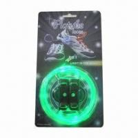 Quality Novelty LED Shoelaces with LED Flashing Disco Flash Lite Glow Stick, CE/RoHS Marks for sale