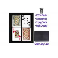 China Poker Scanner Recyclable Marked Plastic Paisley Kem Arrow Playing Cards wholesale