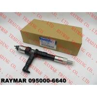 Buy cheap DENSO Genuine common rail fuel injector 095000-6640 for KOMATSU SAA6D125E-5 6251-11-3200, 6251-11-3201 from wholesalers