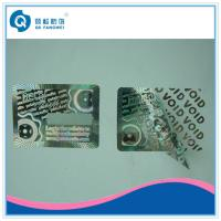 China Warranty Custom Hologram Stickers , Tamper Evident Holographic Warranty VOID If Removed Labels wholesale