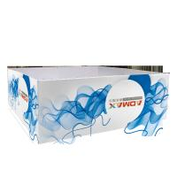China Durable Tube Tension Fabric Banner Stands Digital Printing Square Shape wholesale
