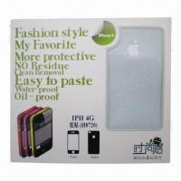 Buy cheap DIY Sticker for iPhone4/4S, Pastes Body Film, Side of Paste Flash, Diamond Color Film Stickers from wholesalers
