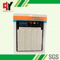 China Large Solderless Breadboard Kit 3220 Points With Black Aluminum Plate wholesale