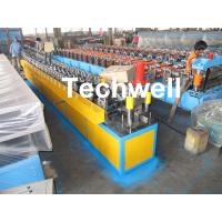 China Roof Ceiling Batten Cold Roll Forming Machine With 14 Forming Stations wholesale