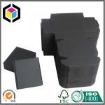 China Black Kraft Paper Shipping Box; Single Wall Handmade Corrugated Mailing Box wholesale