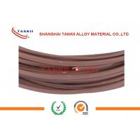 China ANSI Extension Single Type T Thermocouple Wire 2*0.2mm With Teflon Insulation wholesale