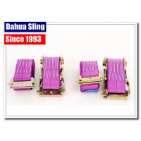 China Multifunctional Cam Buckle Straps / Pull Tight Tie Down Straps With E-Track Fittings wholesale