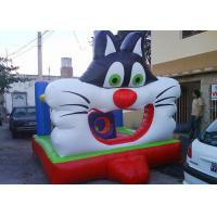 China Popular Moonwalk Bounce House Inflatables Big 3D Design Cat wholesale