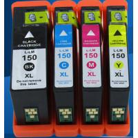 China lexmark150XL bk/c/m/y Ink cartridge  compatible for lexmark S315/S415/S515/Pro715/Pro915 all-in-one inkjet printer. wholesale