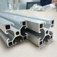 China Cold Drawn Aluminum Spare Parts Anodize T Slot Extruded Frame Profile Durable wholesale