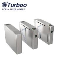 China Turboo Security Flap Barrier Gate With Access Control System And CE Approval on sale