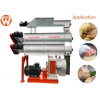 China Gear Drive Feed Pellet Machine / Two Layer Conditioners Animal Poultry Feed Making Machine wholesale