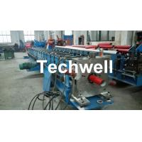 China Round / Square Custom Downpipe Roll Forming Machine For Metal Rainspout Profile wholesale