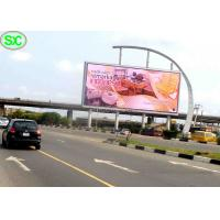 China Video Outdoor SMD LED Billboard p6 Advertising Usage with Power Saving wholesale