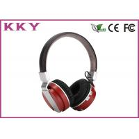 China Wireless Noise Cancelling Headphones , Black Wireless Headphones For Music wholesale