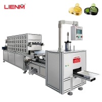 China New Automatic Cosmetic Crystal Eye Mask Filling Machine Forming Line For Skin Care Eye Patches Gel on sale