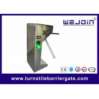 China Stainless Steel Automatic Tripod Turnstile Barrier Gate For Bus Station wholesale