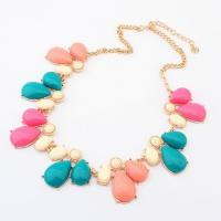 China Vintage jewelry colorful necklaces for women  TJ0031 wholesale