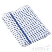China 100% Cotton Kitchen Tea Towels , Azo Free Housework Kitchen Cleaning Cloth 50*70cm wholesale