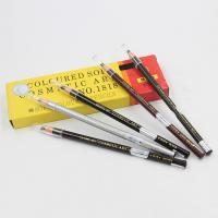 China Cosmetic Tattoo Accessories Permanent Makeup Eyebrow Pencil Wood wholesale
