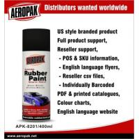 China Portable Red Car Aerosol Spray Paints , Abrasion Resistant And Flexible wholesale