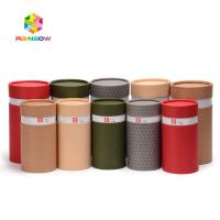 China Recycle Printed CBD Bottles Paper Box Packaging Cardboard Paper Tube Laminated Material wholesale