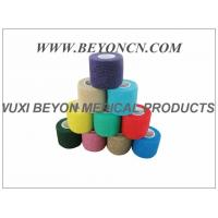 China Latex - free Cohesive Hand Elastic Bandage , Self - adhesive Breathable Bandages wholesale