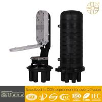 Quality Distribution Optical Fiber Cable Joint Closure 450mm×278mm×189mm Outside Dimension for sale