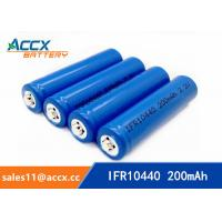 China IFR10440 3.2V AAA size lifepo lithium rechargeable battery wholesale