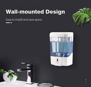 China Wall Mounted Waterproof No Touch Hand Sanitizer Dispenser on sale