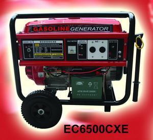 China Gasoline/PetrolGenerator with CE(EC6500CXE) wholesale